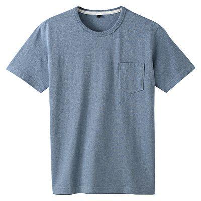 無印良品 / オーガニックコットン天竺クルーネック半袖Tシャツ
