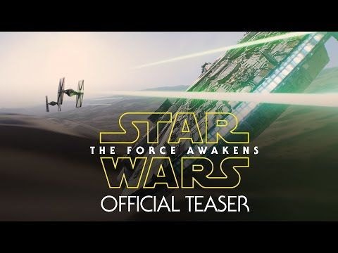 Brace yourself. The first teaser for Star Wars: The Force Awakens has debuted, and our lives will never be the same. | Quotes I like | Pinterest | Star Wars, S…