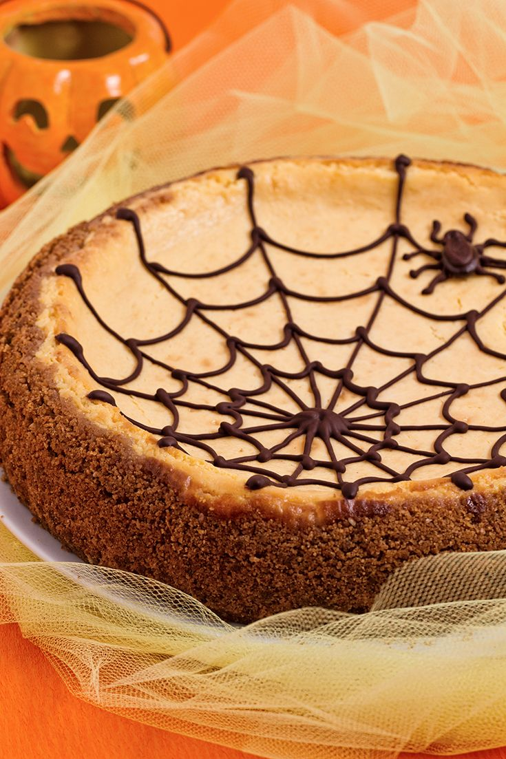 Spiderweb cheesecake