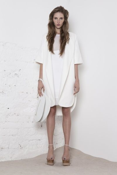 www.store.odivi.cz ODIVI simple white coat SS14