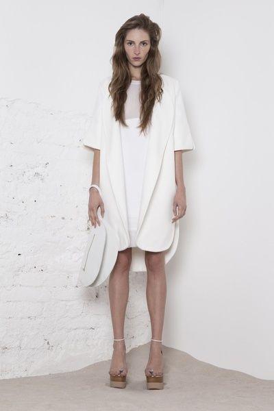 www.store.odivi.cz ODIVI simple white coat SS14