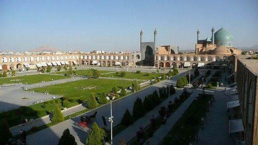 #Plaza de Naqsh-e Yahán, Irán