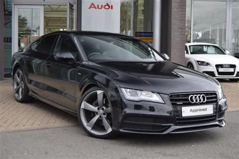 Audi A7 Sportback 3.0TDI 245PS quattro Black Edition STronic