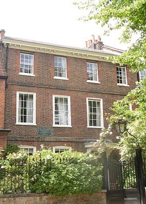 Samuel Taylor Coleridge 3 The Grove, Highgate