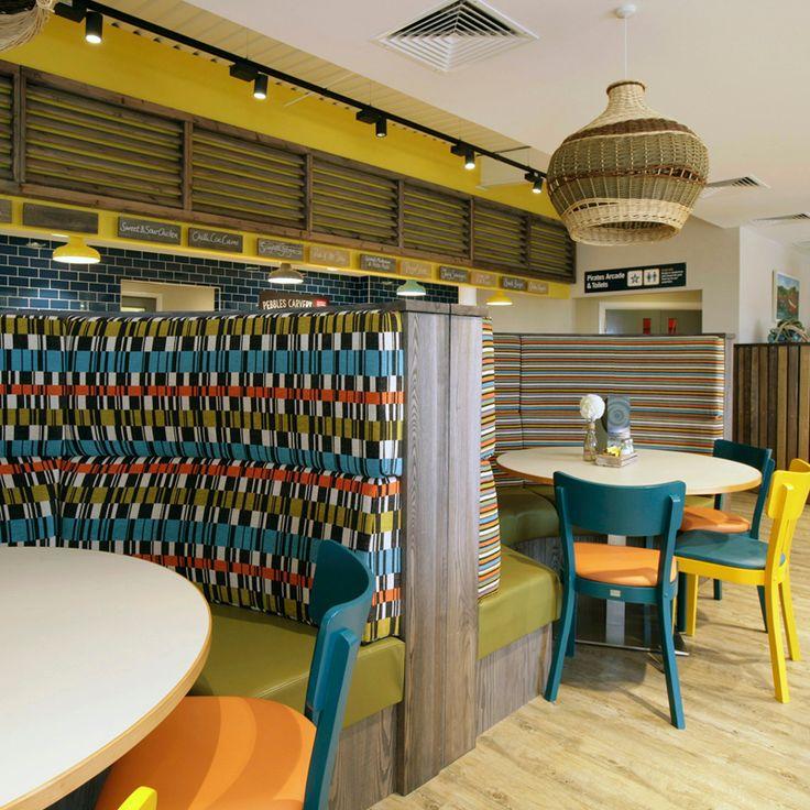 Seating & Dining Area, Ladram Bay Holiday Park - Pebbles Restaurant, Devon, England