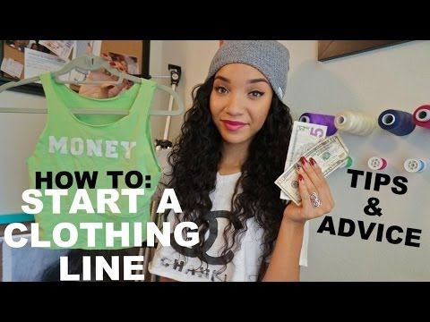 ▶ VLOG| How To Start A Clothing Line - YouTube