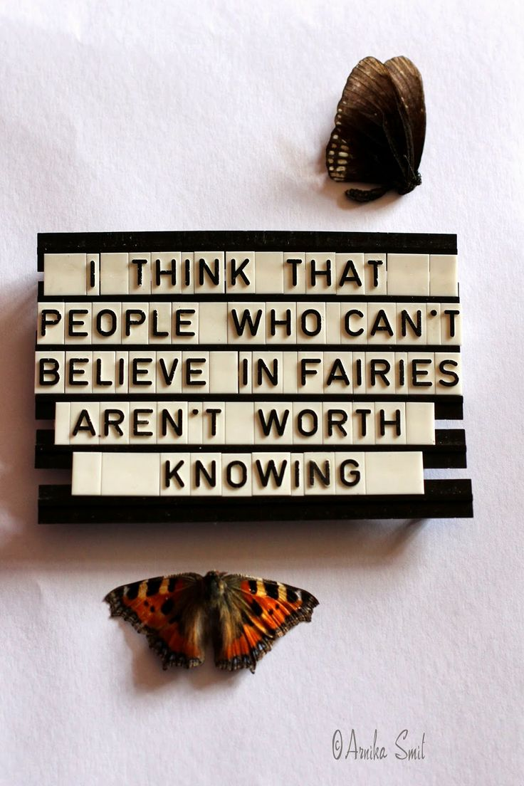 Oh my gosh this is awesome! I still believe in faries and I say that with no shame, I don't think I'll ever lose the belief that all of those stories could be true.