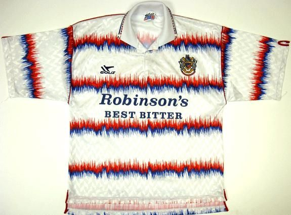 Stockport County football shirt 1992 - 1993 - had some great kits!