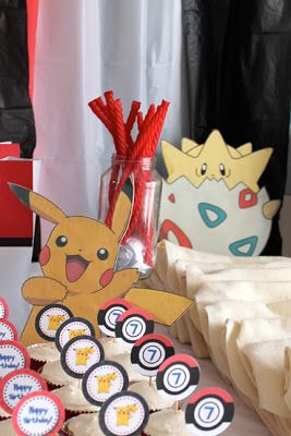 Craft, Interrupted: Pokemon Party: Table Decorations (with ...
