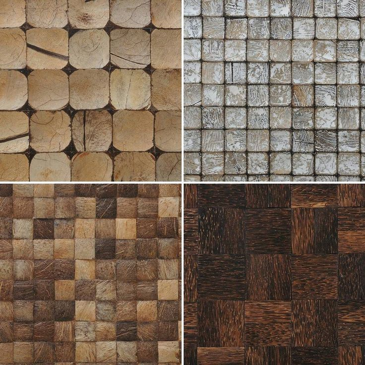 Shapes designs oh my! #light and #textured or #dark and #detailed One of these is sure to be the perfect fit for you. Which one of these would fit your next design adventure? #coconut #teakwood #teak #interior #interiordesign #eco #ecofriendlyproducts #ecotessa #design #tile #style #chattanooga #artisancrafted #handmade #environmentfirst by ecotessa