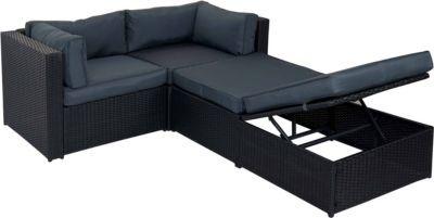 heute-wohnen Poly-Rattan-Garnitur Adana, Gartengarnitur Sitzgruppe Lounge-Set, Alu Jetzt bestellen unter: https://moebel.ladendirekt.de/garten/gartenmoebel/loungemoebel-garten/?uid=ae8ec81e-014c-5875-b888-bd33b1e37e4b&utm_source=pinterest&utm_medium=pin&utm_campaign=boards #loungemoebelgarten #garten #gartenmoebel