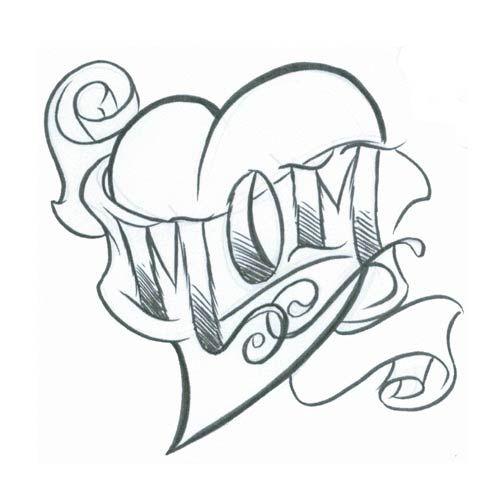Rose Tattoos With Words Google Search: 1000+ Ideas About Mom Heart Tattoo On Pinterest