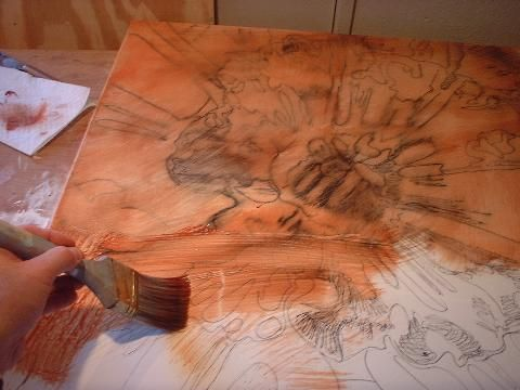 Imprimatura, or Toning the Canvas, First Layer of Oil Painting Techniques