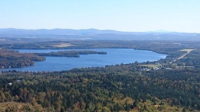 Road trip Canada - jour 4 - Lac mégantic et la maison du granit