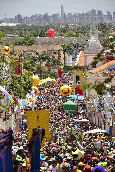 Carnaval 2012 em Olinda, Pernambuco, Brasil