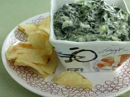 Spinach Dip (Dairy Free)