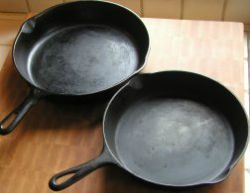 Cast-Iron Pans