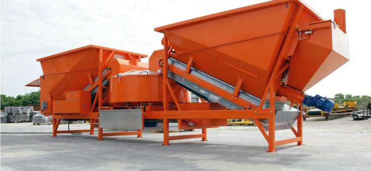volumetric mobile concrete plant