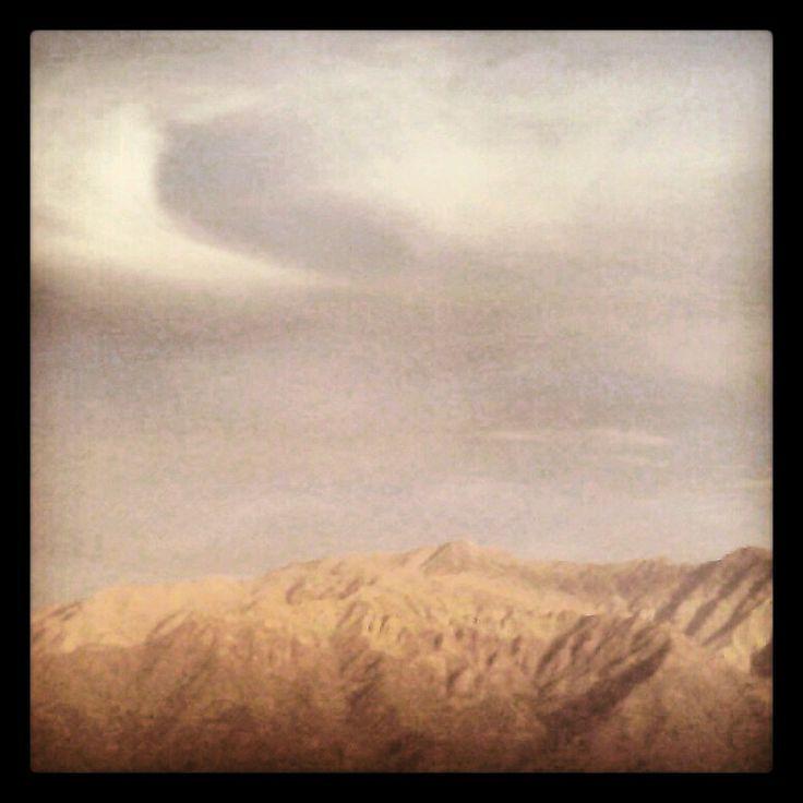 La cordillera de Los Andes.