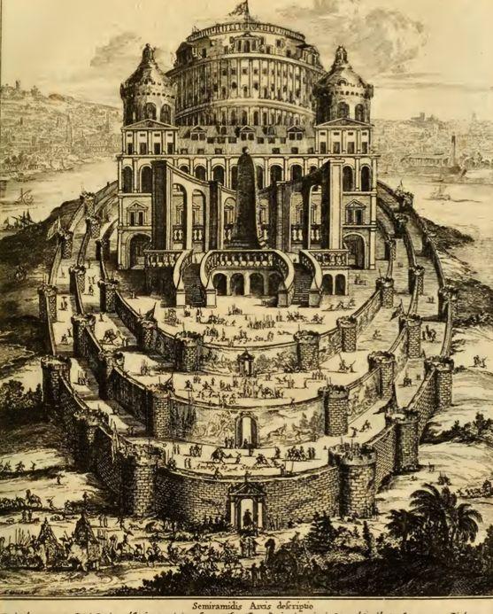 Athanasius Kircher, Turris Babel