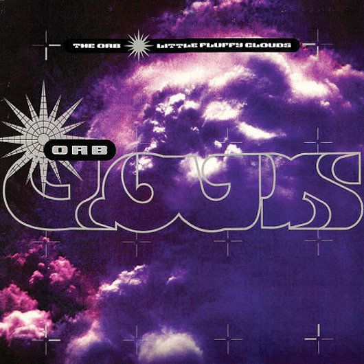 "THE ORB, Little Fluffy Clouds, 1990, ""Little Fluffy Clouds"" is a single released by the English ambient house group The Orb. It was originally released in July 1990 on the record label Big Life and peaked at #87 on the UK Singles Chart. The Orb also included it on their 1991 double album The Orb's Adventures Beyond the Ultraworld. ""Little Fluffy Clouds"" was re-released several times with different b-sides, with its 1993 re-release reaching #10 in the UK."