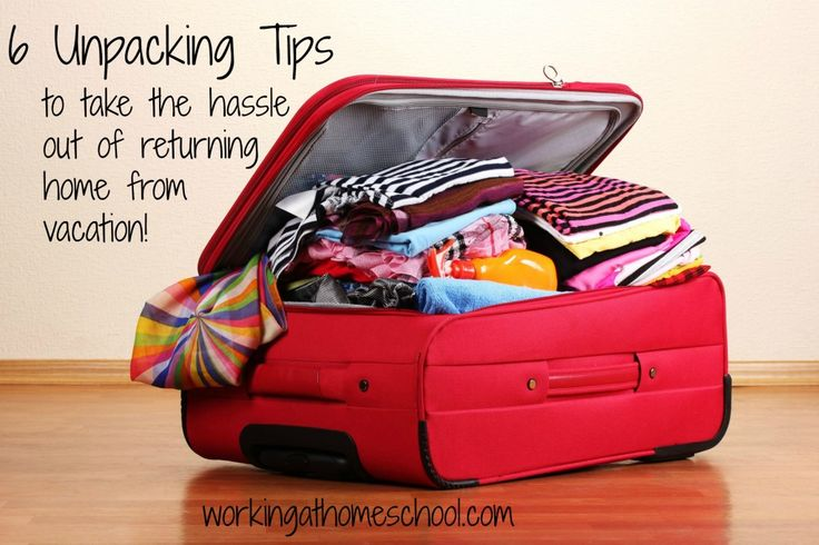 6 Unpacking Tips to Get Organized After a Vacation