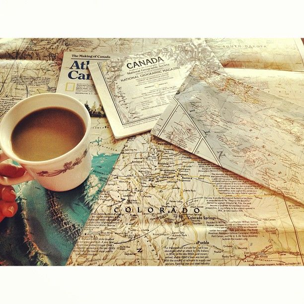Coffee Lover of The Light. The travelers morning. Where to go first?