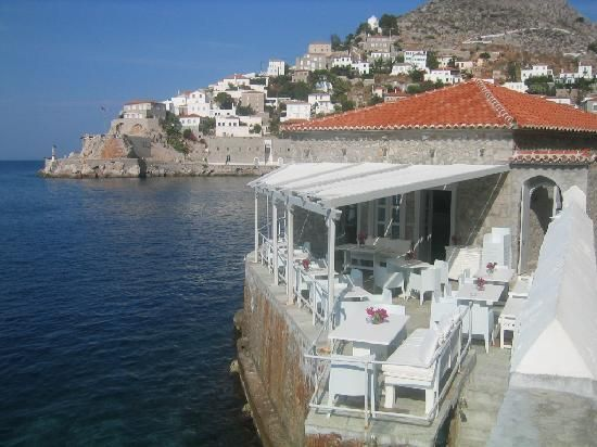 Hydra, Greece - Mom and I had lunch here last June...magical.