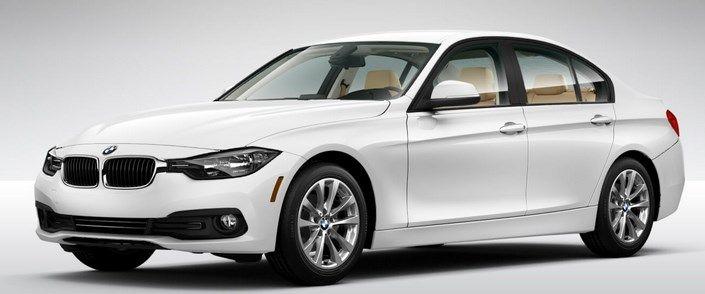 2017 BMW 3-Series white