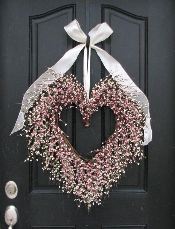 Valentine Wreath The Friendship Wreath Door by twoinspireyou