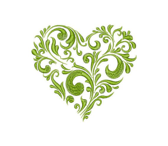 Hearts Love Valentine Machine Embroidery Design от EMBROLANDnet