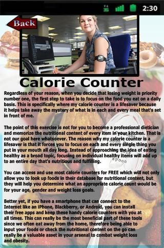 Calorie Counter would be the necessary application to simply find dietary info for the food stuff you try to eat and simply monitor your foods, training and weight.Calorie Counter is straightforward to implement and it has the many cool resources to aid you be successful: - A foodstuff diary to system and monitor what you happen to be eating. - An exercising diary to document many of the energy you burn off. - A barcode scanner and handbook barcode enter - A fast decide on to ...