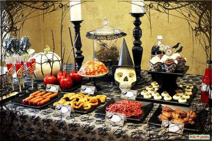 Victorian Halloween Decorations | Victorian Halloween Complete Party Set Print At Home | Halloween Ideas
