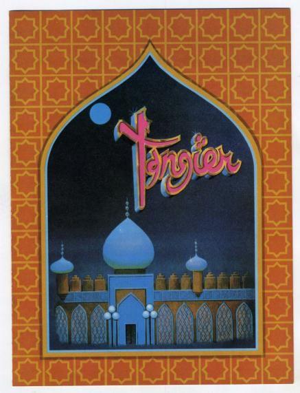 tangiers akron ohio | Details about The Tangier Restaurant Menu & Flyer Akron Ohio 1980s