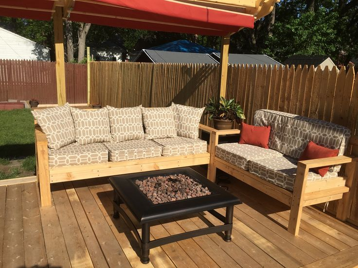sectional seating do it yourself home projects from ana white outdoor furniture tutorials. Black Bedroom Furniture Sets. Home Design Ideas