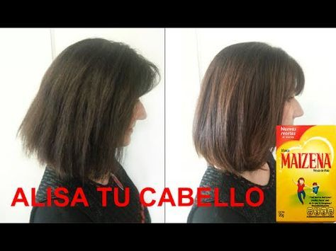 Como reparar y alisar el cabello naturalmente con crema de maizena