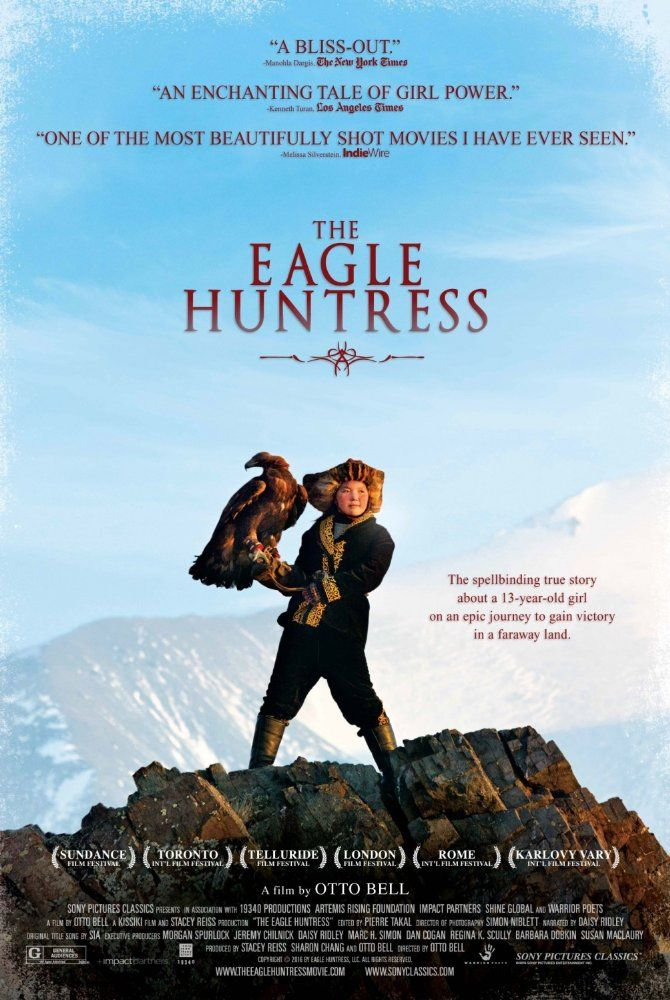 Directed by Otto Bell. With Daisy Ridley, Aisholpan. The Eagle Huntress follows…