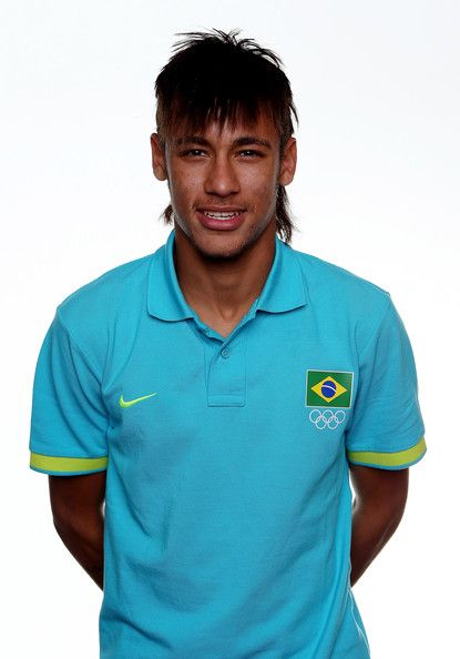 Neymar Photos: Brazil Men's Official Olympic Football Team Portraits