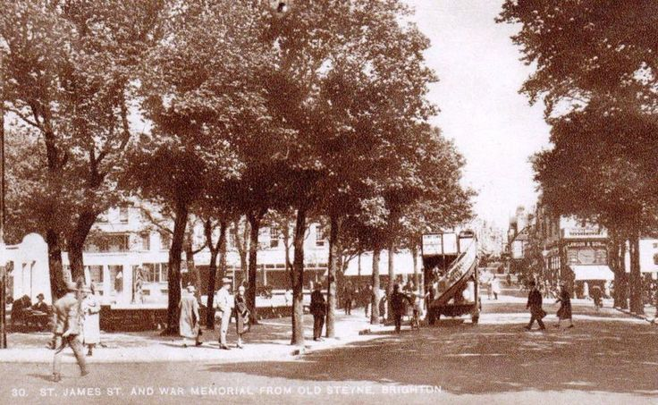 An Old Photo The Old Steine looking towards St James's Brighton East Sussex England