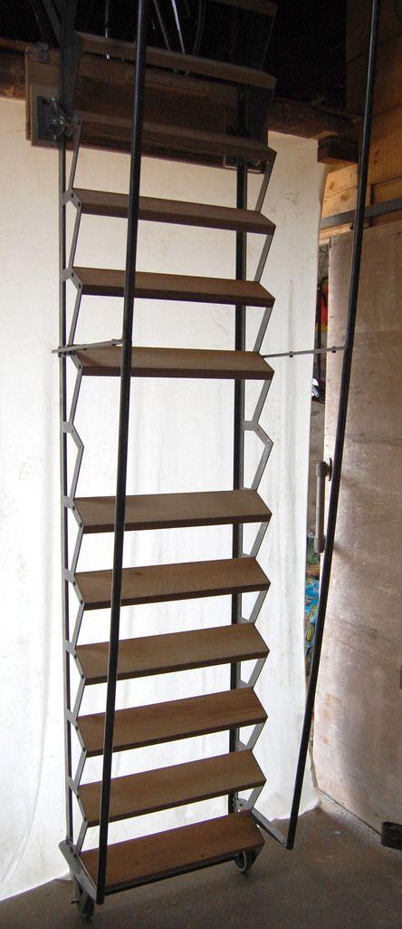 17 Meilleures Id Es Propos De Escalier Escamotable Sur Pinterest Echelle Escamotable