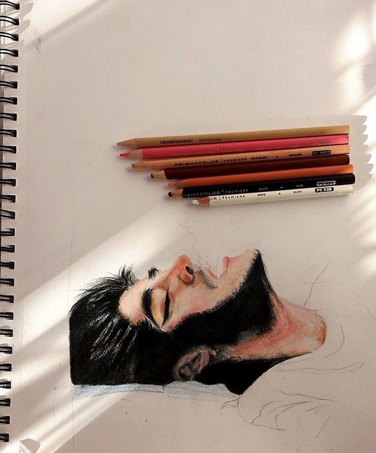 J'aime dessiner les personnes