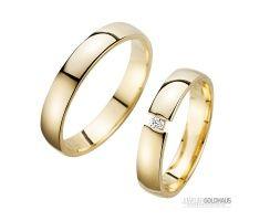 Trauringe Eheringe Gold Gelbgold - HR200  eheringe  Pinterest  Gold