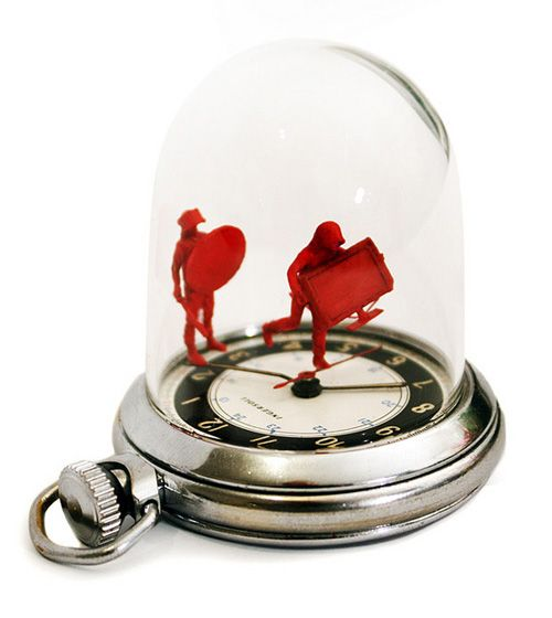 best pocket watch of all time. ha.Dominic Wilcox, Amazing Design, 3D Art, Pocket Watches, Products Design, Art Tins, Buy Watches, Awesome Watches, Watches Sculpture