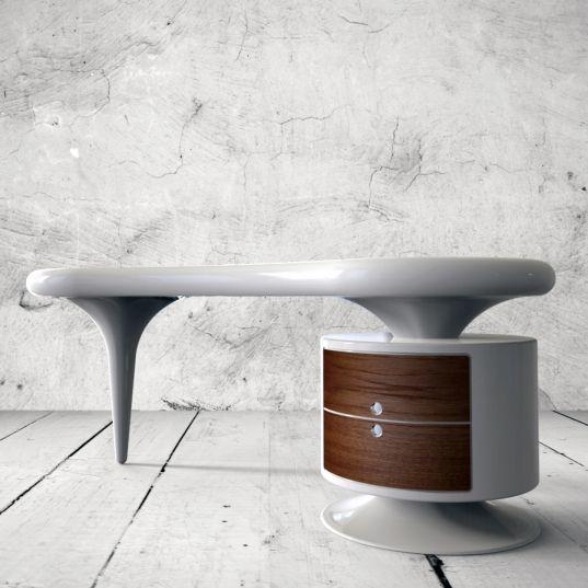 Scrivania BEAN in Adamantx®, designer Alessandro Canepa