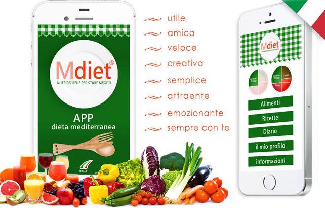 Mdiet: la Dieta Mediterranea diventa una APP.