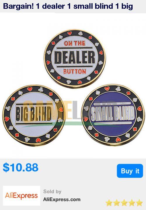 Bargain! 1 dealer 1 small blind 1 big blind 3 in 1 Poker Chips Set UPDATED COMBATION of special poker chips * Pub Date: 23:55 Apr 12 2017