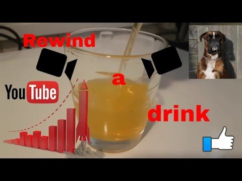 How To?!?! Rewind A Drink Trick - YouTube