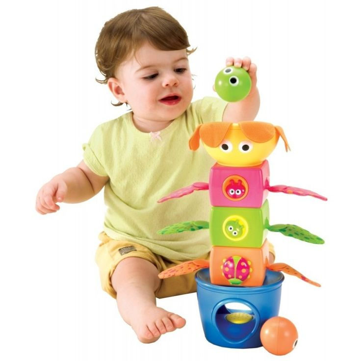 Apila y aletea, un juguete para los más pequeños. Podrán descubrir texturas, sonidos..construir...Desde los 9 meses