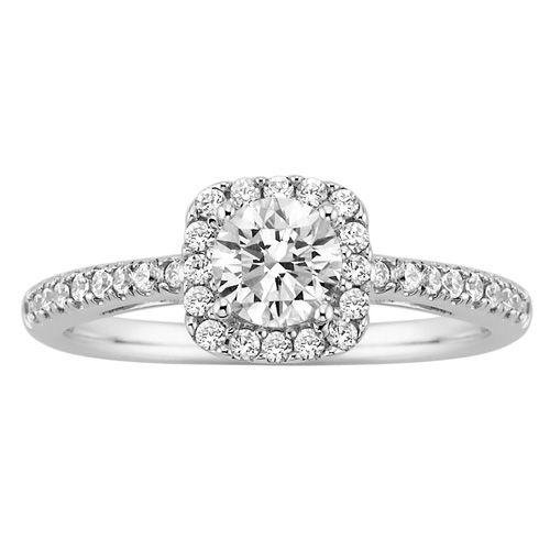 Stunning Fred Meyer Jewelers ct tw Diamond Engagement Ring