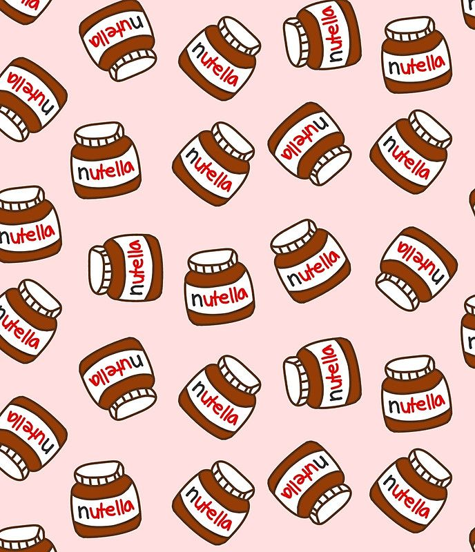 Cute Tumblr Nutella pattern   mini-skirt   – girly wallpaper♡